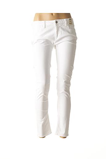 Jeans skinny blanc REIKO pour femme