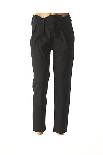 Pantalon casual noir SCOTCH & SODA pour femme