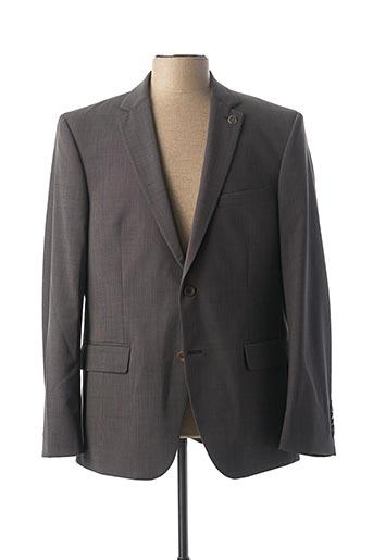 Veste chic / Blazer gris BRUNO SAINT HILAIRE pour homme