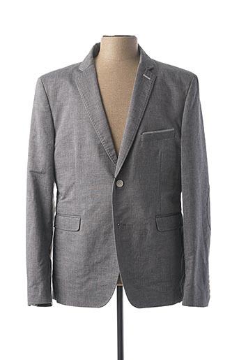 Veste chic / Blazer gris IZAC pour homme