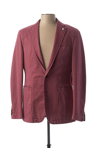 Veste chic / Blazer rouge STONES pour homme
