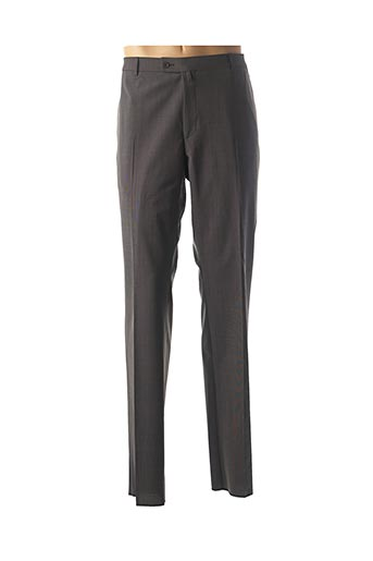 Pantalon chic gris BRUNO SAINT HILAIRE pour homme