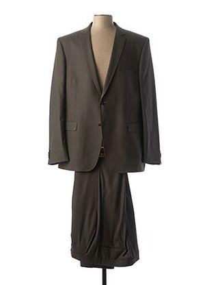 Costume de cérémonie gris BRUNO SAINT HILAIRE pour homme