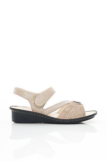Chaussures professionnelles beige PEDI GIRL pour femme