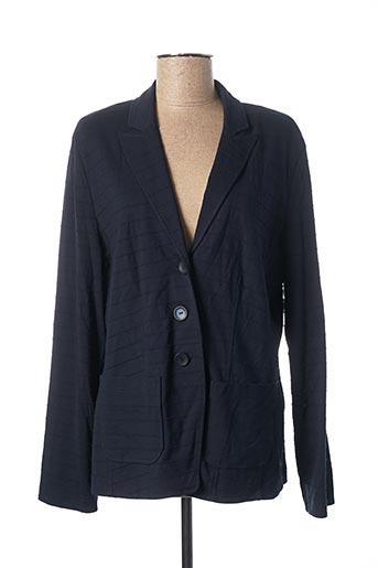 Veste chic / Blazer bleu SOMMERMANN pour femme