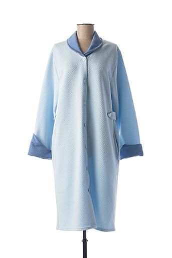 Robe de chambre bleu ROSE POMME pour femme