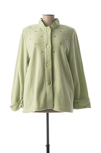 Robe de chambre vert REGENCE pour femme