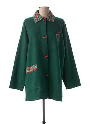 Robe de chambre vert VANIA pour femme