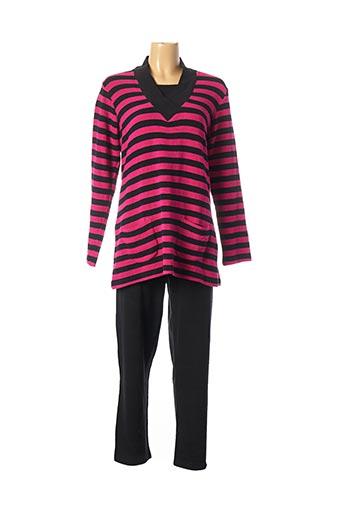 Pyjama rose CANAT pour femme