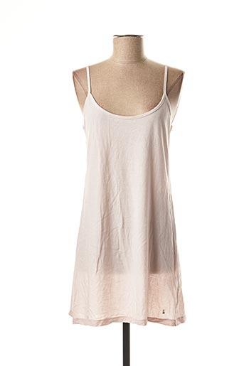 Jupon /Fond de robe rose DES PETITS HAUTS pour femme
