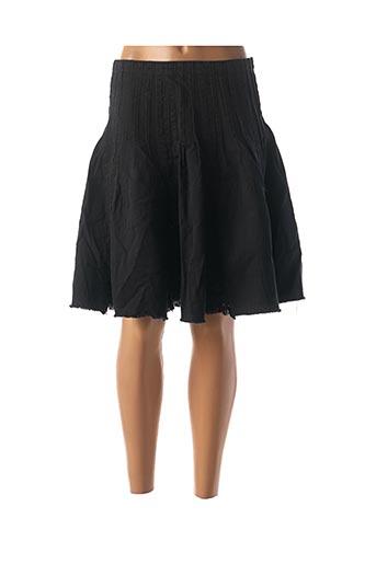 Jupe mi-longue noir BLEND SHE pour femme