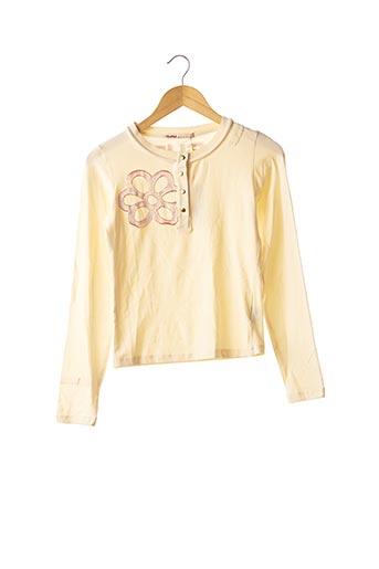 T-shirt manches longues beige GURU pour femme