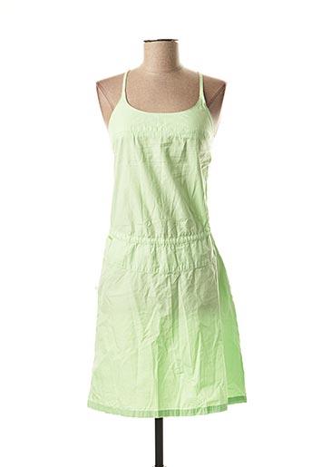 Robe mi-longue vert SESSUN pour femme