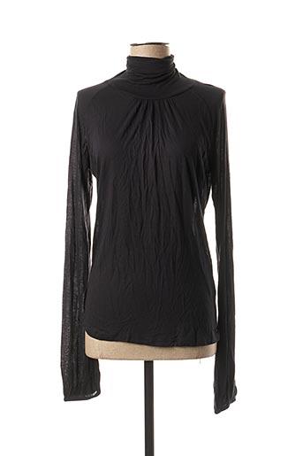 Sous-pull noir TEDDY SMITH pour femme