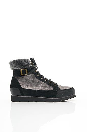 Bottines/Boots gris KARSTON pour femme