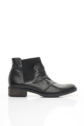 Bottines/Boots noir FRANCE MODE pour femme