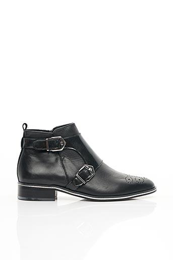 Bottines/Boots noir J.METAYER pour femme
