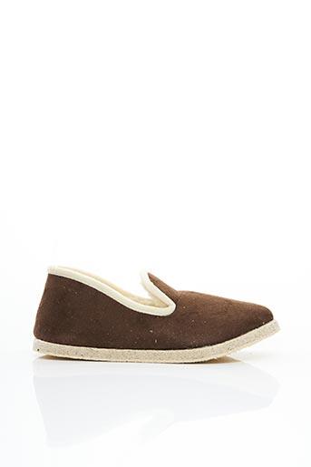 Chaussons/Pantoufles marron RONDINAUD pour homme