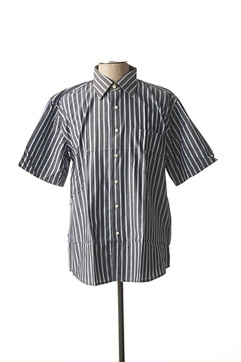 Chemise manches courtes gris ATTORE pour homme