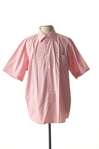 Chemise manches courtes rose ATTORE pour homme