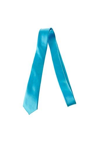 Cravate bleu CANOTTI COUTURE pour homme