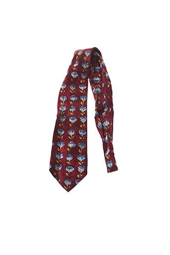 Cravate rouge ELIOS pour homme