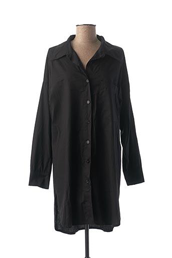 Robe mi-longue noir APRIL VINTAGE pour femme