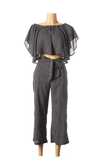Top/pantalon noir EIGHT PARIS pour femme