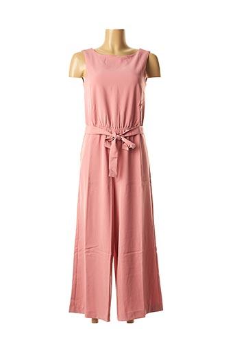 Combi-pantalon rose BEST MOUNTAIN pour femme