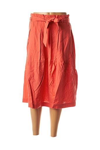 Jupe mi-longue rouge BEST MOUNTAIN pour femme
