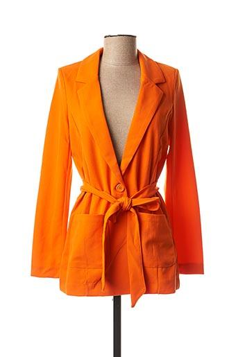 Veste chic / Blazer orange B.YOUNG pour femme