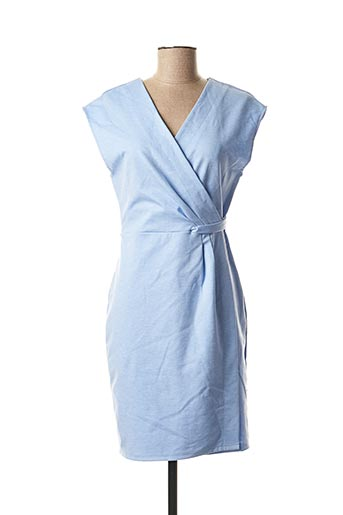 Robe mi-longue bleu B.YOUNG pour femme