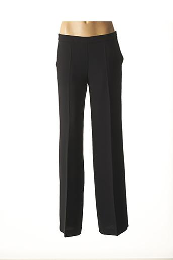 Pantalon chic noir CARACTERE pour femme