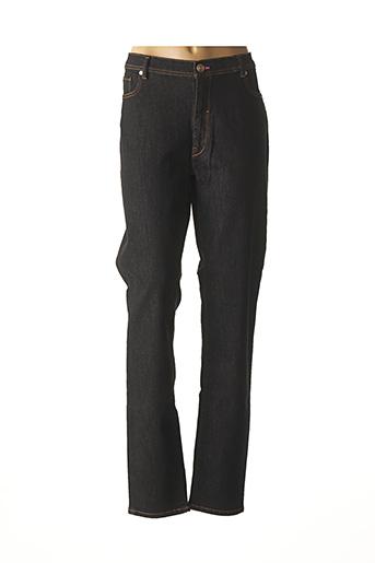 Jeans coupe slim noir TRUSSARDI JEANS pour femme
