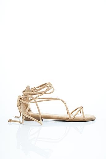 Sandales/Nu pieds beige DAY-VINE pour femme