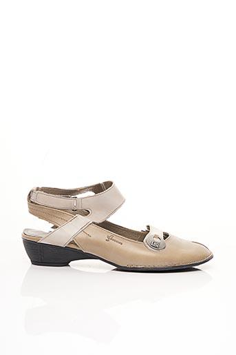 Chaussures de confort beige DORKING pour femme