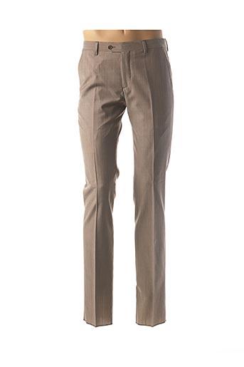 Pantalon chic beige ERMENEGILDO ZEGNA pour homme