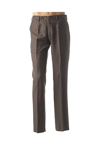 Pantalon chic gris ERMENEGILDO ZEGNA pour homme