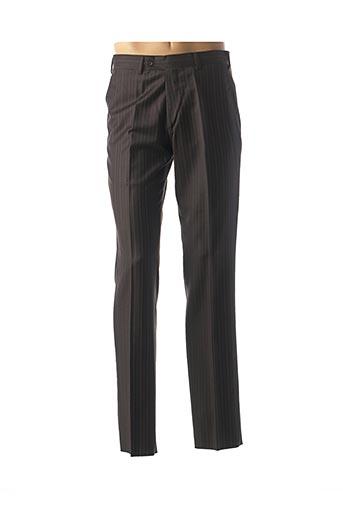 Pantalon chic noir ERMENEGILDO ZEGNA pour homme