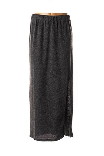 Jupe longue gris DROLATIC pour femme