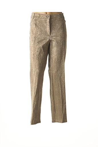 Pantalon casual beige LEBEK pour femme