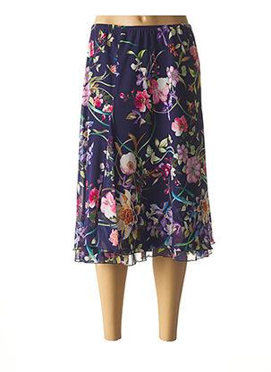 Jupe mi-longue violet JEAN DELFIN pour femme