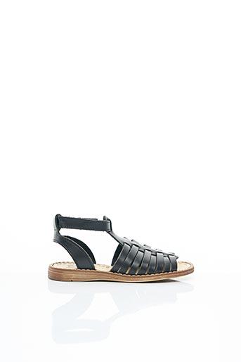Sandales/Nu pieds noir BELLAMY pour fille