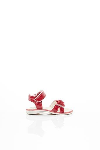 Sandales/Nu pieds rouge BELLAMY pour fille