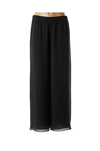 Pantalon casual noir GEORGEDÉ pour femme