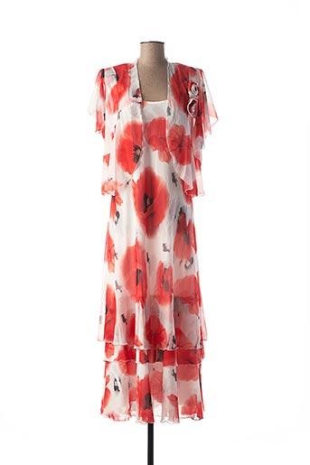 Veste/robe rouge GEORGEDÉ pour femme
