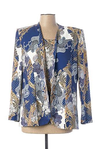Twin-set bleu GEORGEDÉ pour femme