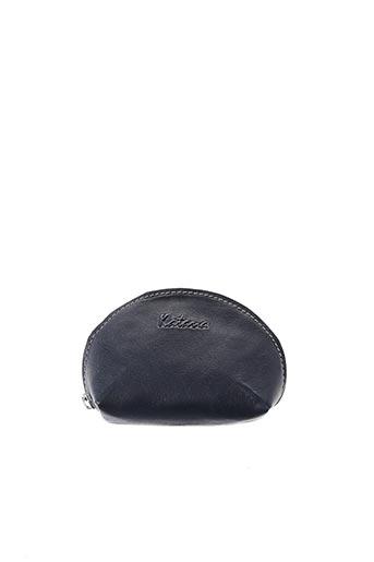 Porte-monnaie bleu KATANA pour femme