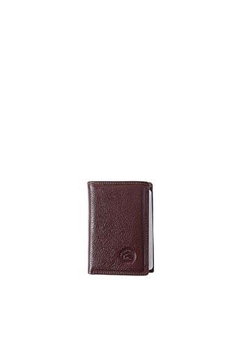 Porte-carte marron ELEPHANT D'OR pour unisexe