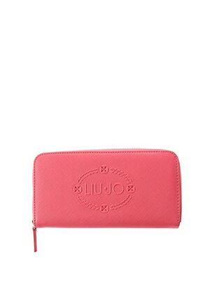 Portefeuille rose LIU JO pour femme